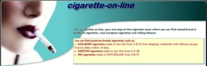 At cigarette on-line you can find premium brands cigarettes such as: MARLBORO cigarettes made in the USA from $ free shipping worldwide with delivery, WINSTON cigarettes made in the USA from $ 21.00, 555 cigarettes made in SWITZERLAND from $18.75